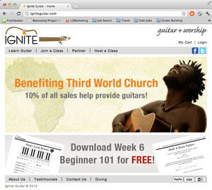Ignite Website Link