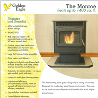 Golden Eagle Stoves flyer
