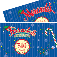 Posados Restaurant Christmas Card