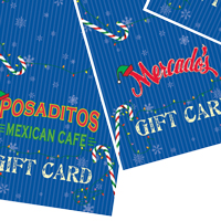 Posados Restaurant Christmas Gift Holder