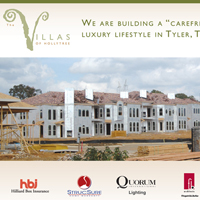 Villas in Tyler ad